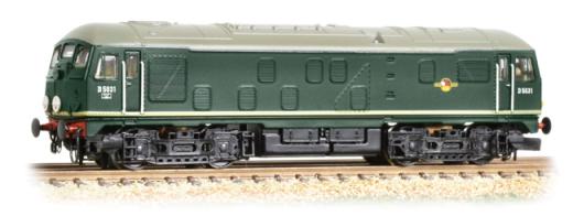 Graham Farish 372976A classe 24 D5031 BR verde N Gauge