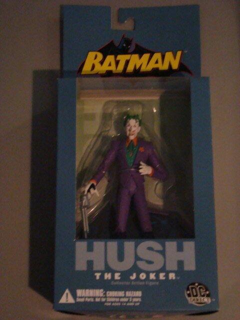 DC DIRECT BATMAN  HUSH HUSH HUSH  SERIES 1  Complete 5 Figure Set 189f1d