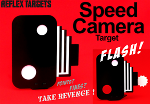 SPEED CAMERA TARGET for air gun, rifle and pistol