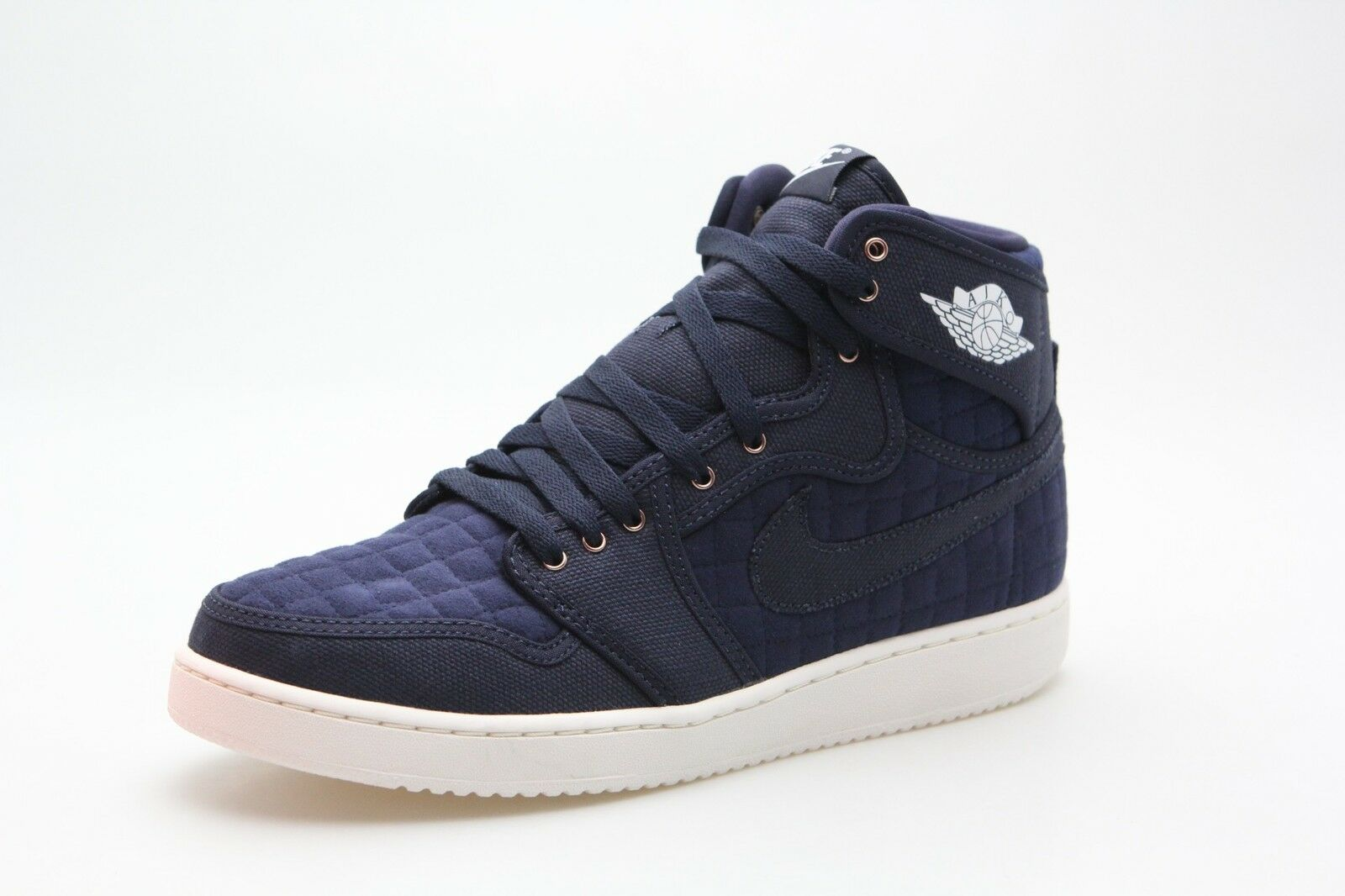 638471-403 Jordan Men Air Jordan 1 KO High OG Obsidian bluee White