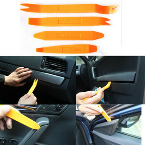 Car Door Plastic Trim Panel Clip Dash Radio Removal Pry Tools Kit for Chrysler