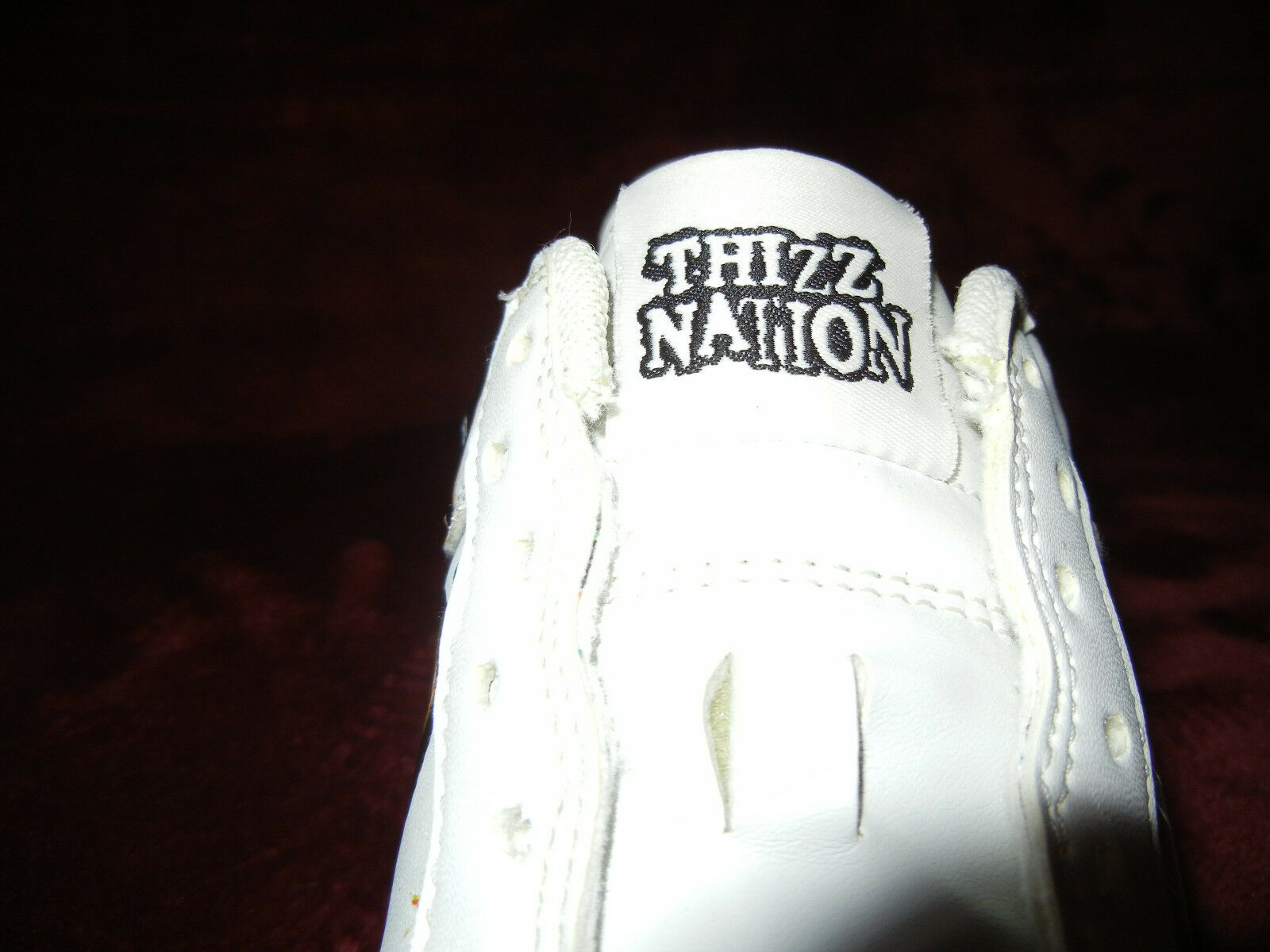 Mac Dre  FURLS NUMBER ONE size 10 sneakers AF1s  Thizz Nation Deadstock shoes DS