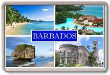 KÜHLSCHRANK-MAGNET - BARBADOS - Große - Caribbean TOURISTEN
