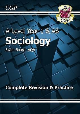 1 of 1 - New 2015 A-Level Sociology: AQA Year 1 & AS Complete Revision & Practice, Good C