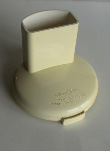 Sunbeam Oskar Food Processor 14081 Bowl Lid Feed Tube Flow Bowl Pusher Choice