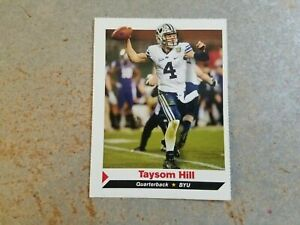 Taysom Hill BYU QB #376 NFL Sports Illustrated for Kids SI ...Taysom Hill Kids