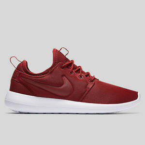 timeless design 701ab e4776 Details about Nike Womens Roshe Two Trainers Lightweight Bordeaux Burgundy  Shoes ~ SALE