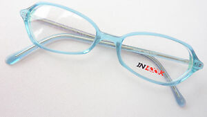 In QualitäT Liberal Brille Damengestell Brillenfassung Wasserblau Kleine Glasform Zierlich Size M Ausgezeichnete