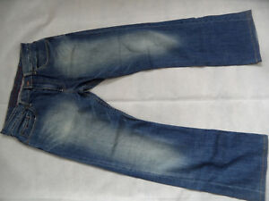 TOMMY-HILFIGER-coole-used-look-Stretch-Jeans-Gr-MANHATTAN-Gr-31-TOP-618