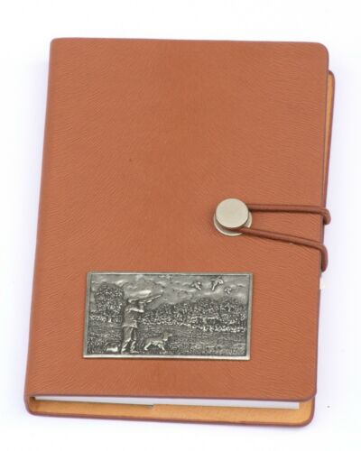 Shootering Plaque Emblem A6 Notebook Pocket Size Notepad Ideal Shooting Gift
