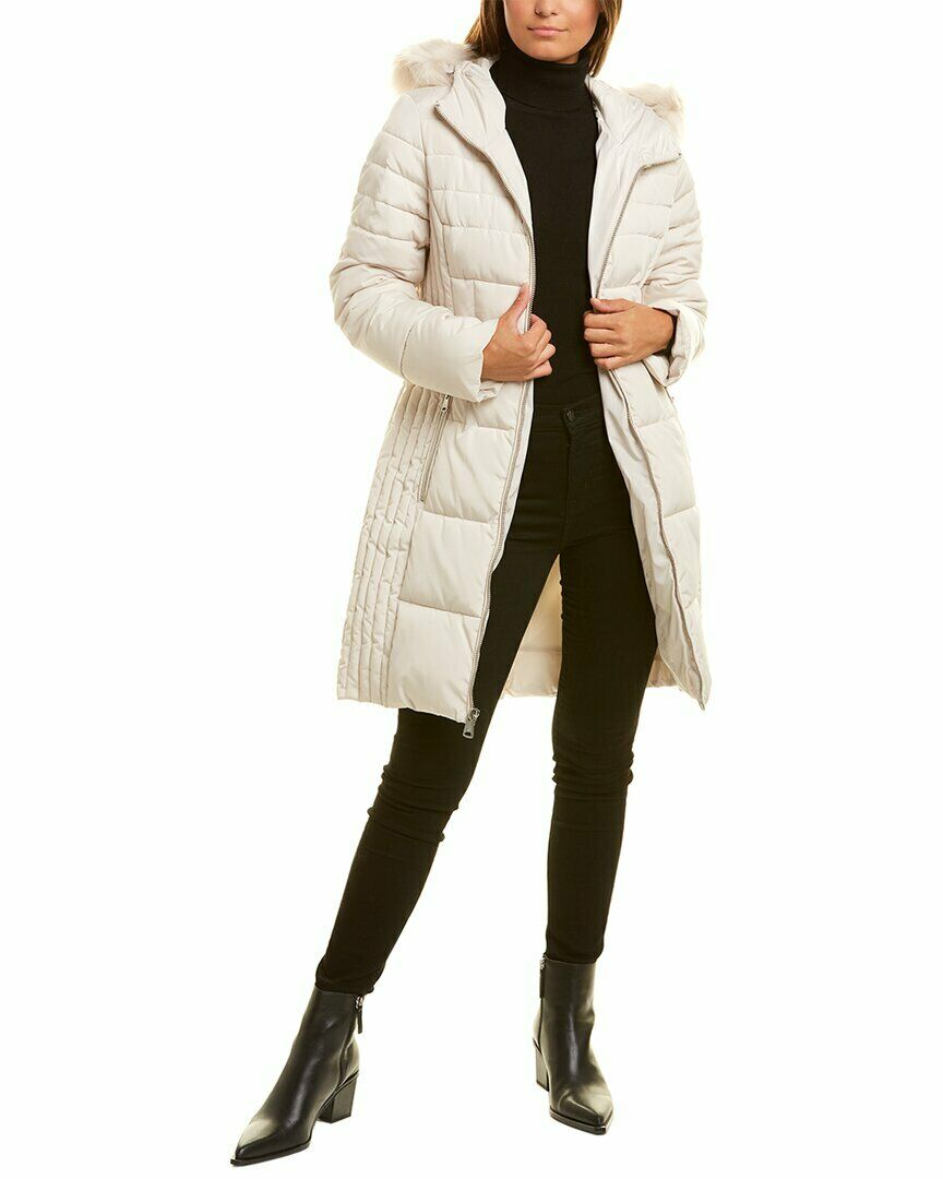 Kenneth Cole Quilted Coat Women's