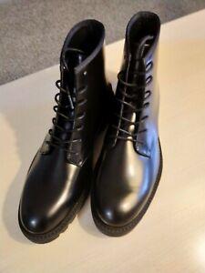 Calvin-Klein-Fenton-Box-Leather-Boots-Combat-Moto-Louboutin-Boot-US10