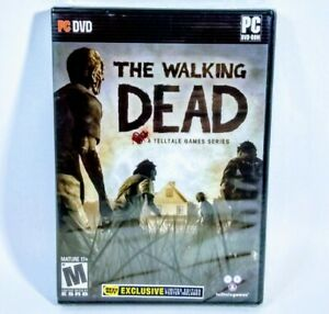 Walking-Dead-Limited-Best-Buy-Edition-PC-Brand-New-Sealed-with-Poster