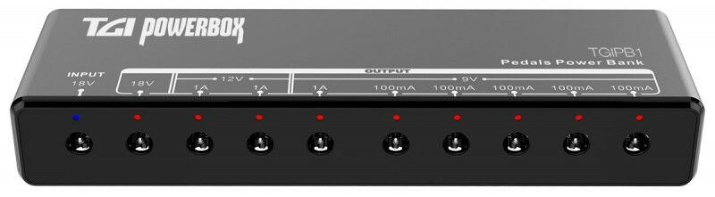 Tgi TGIPB1 Gitarre Pedal Strom Block - Effektpedal Netzteil