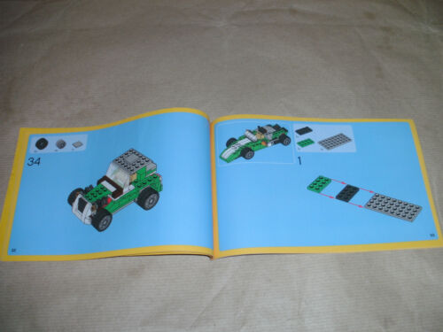 SPARES CHOOSE THE 1 YOU WANT USED LEGO CREATOR SET INSTRUCTIONS ONLY NO LEGO