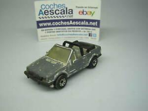 1-64-Matchbox-USADO-USED-REF-125-Ford-escort-MKIII-cabriolet-1-56-cochesaescala