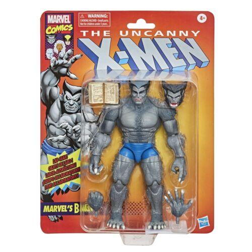 Marvel leggende Grigio BESTIA Retrò X-MEN 6 pollici Action Figure