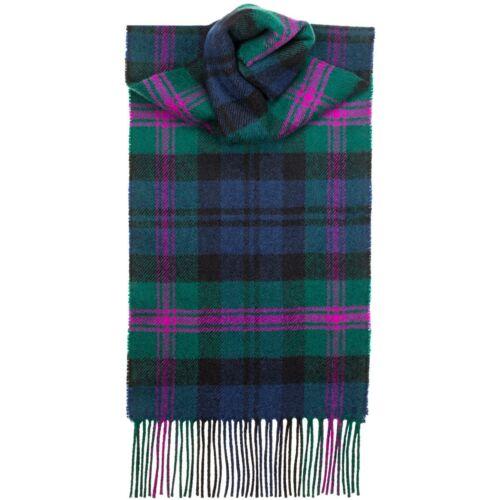 Lochcarron della Scozia 100/% LANA D/'AGNELLO Baird CLAN Tartan Sciarpa Nuovo con etichette