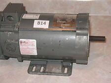 Baldor Electric DC motor 3/4 HP,  90 DC Volts 2500 RPM Fr. 56C CDP3443