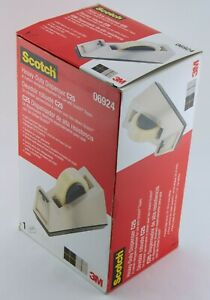"""3M Scotch Heavy-Duty Dispenser C25 Holds Tape Up To 1"""" Wide 3"""" Core Made in USA"""