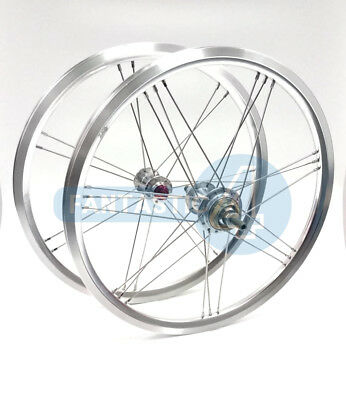 """ACE 800g 16/"""" 349 wheels set for Brompton Bicycle 2 or 3 speed"""