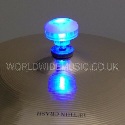 Fireballz LED Cymbal Nut - Lights up hitting Cymbals - Choice of 4 colours