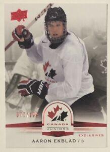 Aaron-Ekblad-2014-15-Upper-Deck-Team-Canada-Juniors-Red-Exclusives-199