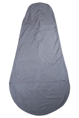 Mountain Warehouse Sac de couchage en gris clair avec polyester microfibre Liner