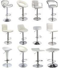 Duhome - 2er SET Barhocker ++ WHITE EDITION++ Barstuhl aus Kunstleder/Kunststoff