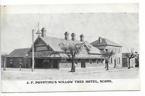 Image Is Loading J F Poynting 039 S Willow Tree Hotel Scone