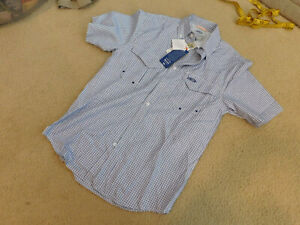 d92ebf5414de5 AMERICAN FISHING TACKLE CO AFTCO AFTECH SHIRT UPF 50 SIZE SMALL NEW ...