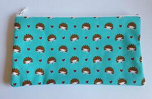 Cute-Hedgehog-Fabric-Handmade-Make-Up-Bag-Pencil-Case-Storage-Pouch