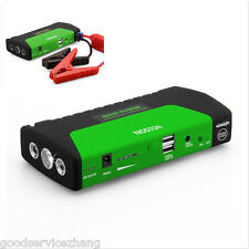 16800mAh 2USB Multi-Function Car Jump Starter Power Bank Rechargable Battery 12V