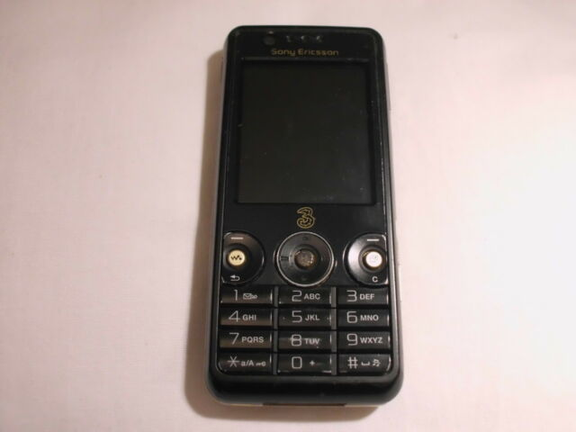 Sony Ericsson W660i Walkman - Record black (Unlocked) Mobile Phone