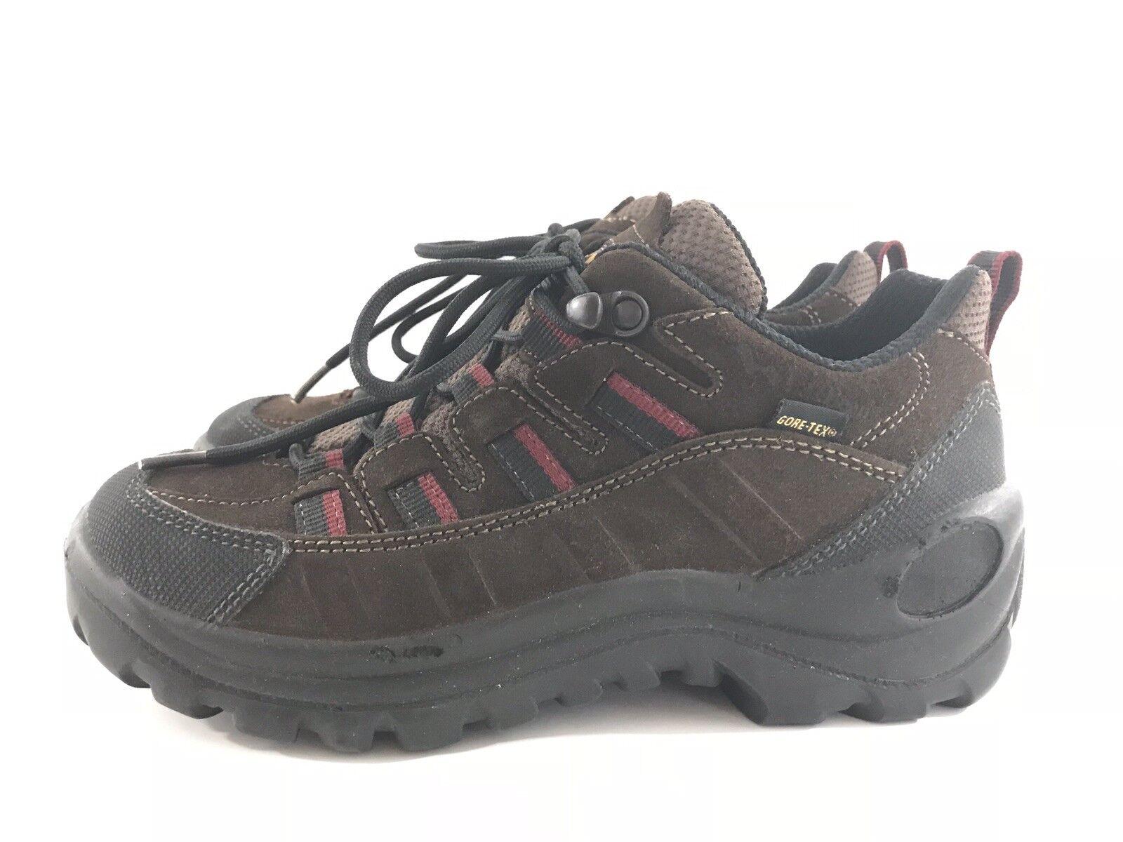Womens LL Bean Gore-Tex Vibram Hiking Trail shoes Boots Size 6 M