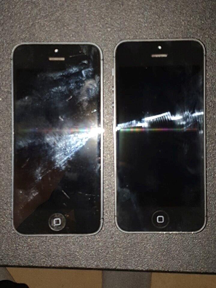 iPhone 5, 8 GB, grå