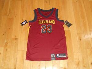 the best attitude 3004e 66394 Details about New 2018 Nike LEBRON JAMES CLEVELAND CAVALIERS Men NBA  Swingman Team JERSEY 40 S