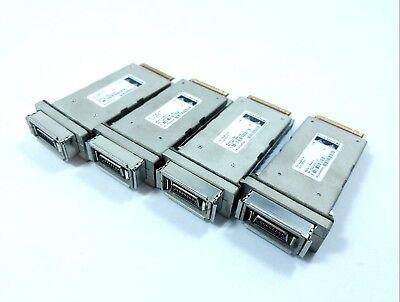 4x Cisco X2-10gb-cx4 10gb Gigabit Ricetrasmettitore Modulo-