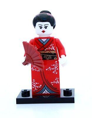 NEW LEGO MINIFIGURES SERIES 4 8804 - Kimono Girl