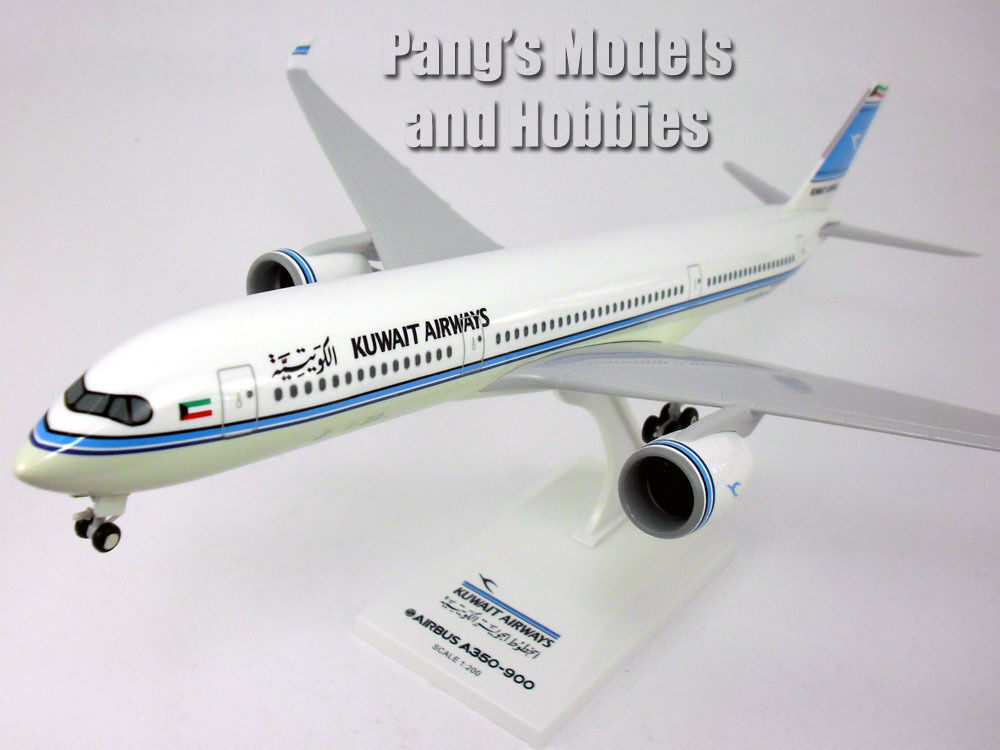 Airbus A350-900 (A350) Kuwait Airways 1 200 Scale by Sky Marks