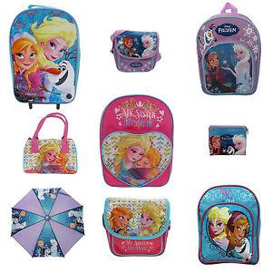 Girls-Disney-Frozen-Bags-Backpacks-Bags-NEW