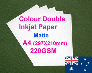 30-sheets-A4-220GSM-Inkjet-Double-Side-Matte-Photo-Paper