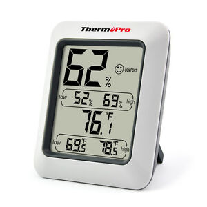 ThermoPro-Digital-LCD-Indoor-Thermometer-Hygrometer-Temperature-Humidity-Meter