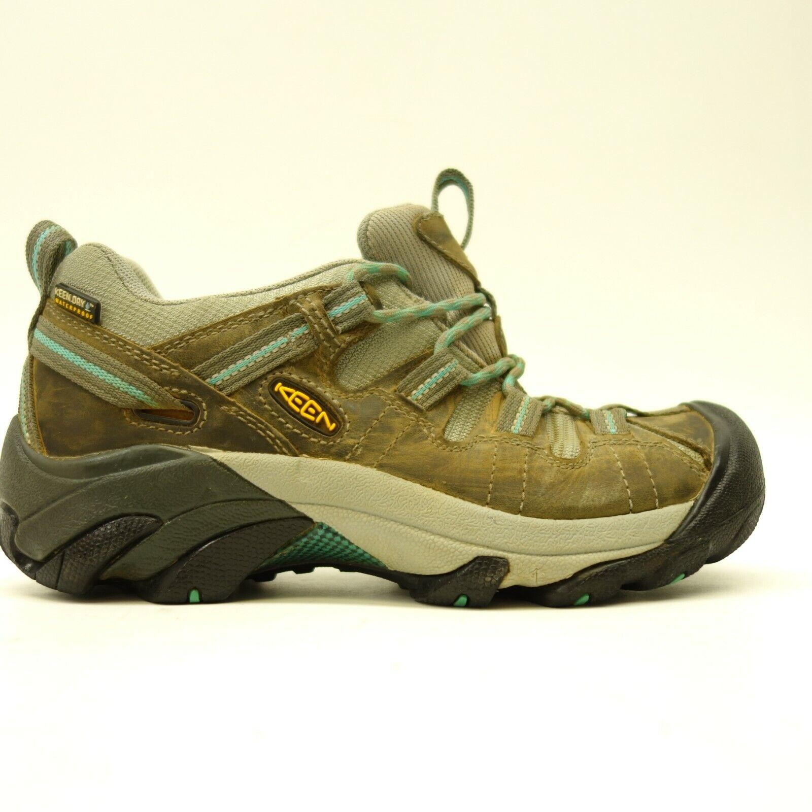 Keen Femmes Voyageur US 6.5 Eu 37 Cuir Athletic Support Chaussures Randonnée