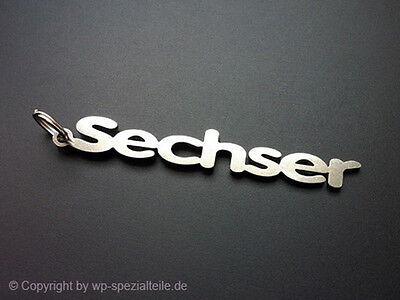 Audi A6 Schlüsselanhänger Sechser C5 C6 C7 4F 4G 4B 1,8T 2,7TDI 4,2 V8 S6 RS6 V6