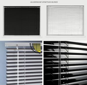 Aluminium-Metal-Venetian-Blinds-Trimable-Easy-Fit-25mm-Slat-Home-Office-All-Size