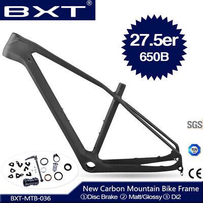 29er MTB Frames Full Carbon Fiber Mountain Bike Frames BSA//PF30 Bicycle Frameset