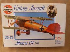 AIRFIX 1:72 - SPECIAL EDITION - Avion - Vintage aircraft - Albatros DV 1917