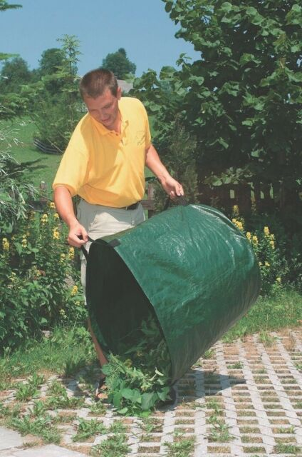 SAC DE JARDIN MULTI USAGES AUTOSTABLE 270 LITRES herbe feuille taille tonte