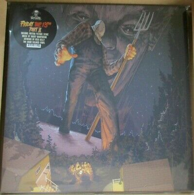Friday The 13th Part 2 Vinyl Record Lp Blue Marble Limited
